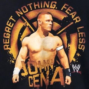 John Cena throwback WWE hoodie
